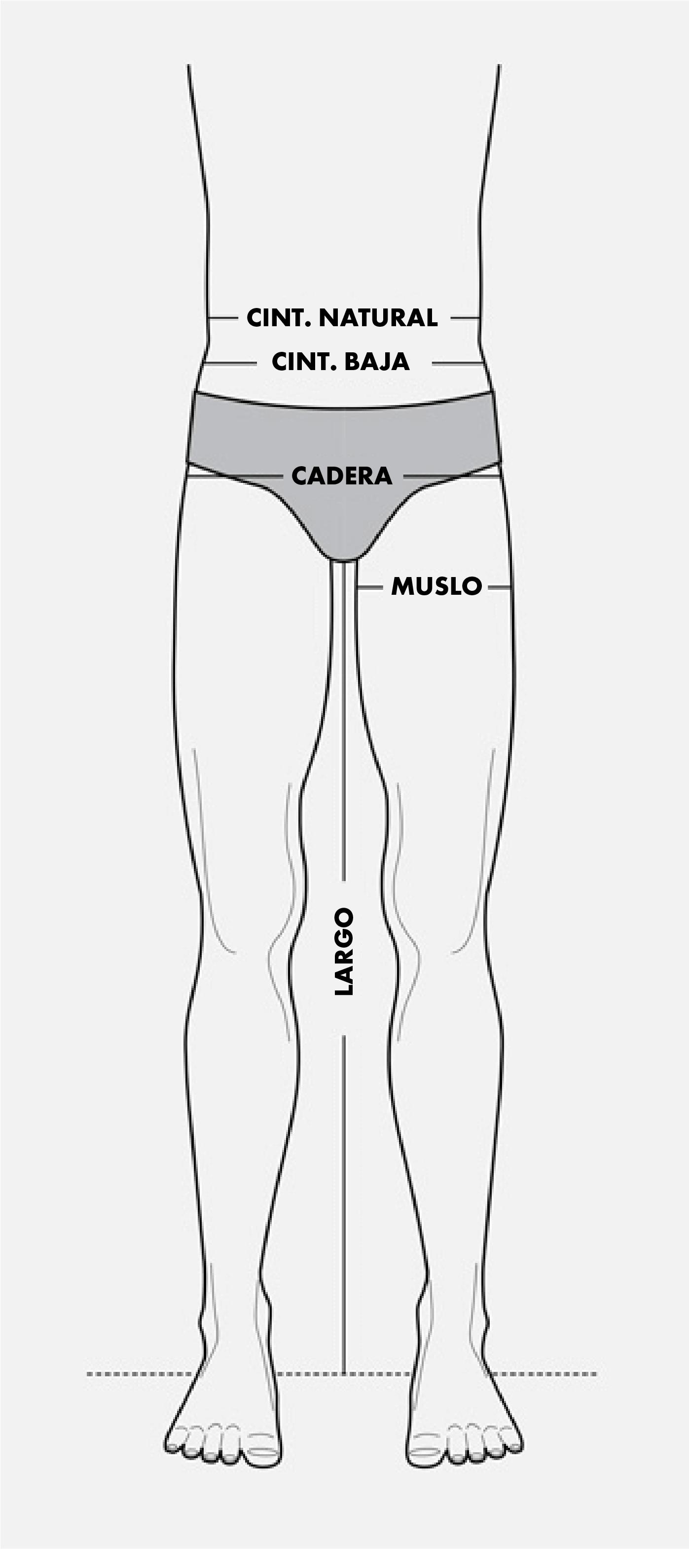 Bottoms Hombre
